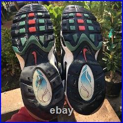 Nike Air Griffey Max 1 Home Run Derby Turf 354912-100 South Beach Size 10.5