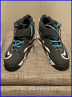 Nike Air Griffey Max 1 Home Run Derby Turquoise Grey Mens Size 10.5