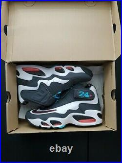 Nike Air Griffey Max 1 Home Run Derby Turquoise Grey Mens Size 10.5 (354912-100)
