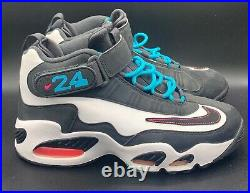 Nike Air Griffey Max 1 Home Run Derby Turquoise Grey Mens Size 9 (354912-100)