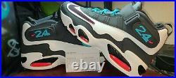 Nike Air Griffey Max 1 Home Run Derby (whi/blk-anthracite-trqs Bl) Sz 10 Mens