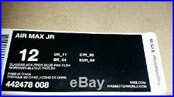 Nike Air Max JR 12 HOME RUN DERBY griffey 1 90 95 97 ii QS jordan yeezy db qs og