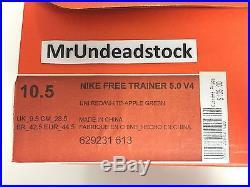 Nike Free Trainer 5.0 V4 MLB Home Run Derby Big Apple Promo Sample Sz 10.5 & Mor