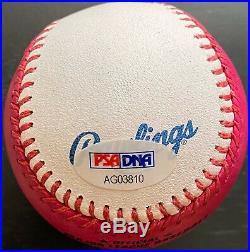 Nolan Ryan Autographed 2017 Home Run Derby Baseball, PSA Grade MINT 9.5