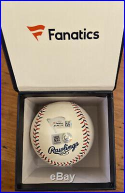 PETE ALONSO AUTO 2019 Home Run Derby Pink Money Ball Baseball FANATICS AUTHENTI