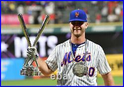 Pete Alonso 2019 HOME RUN DERBY Game Used All Star Baseball Round 1 Mets