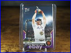 Pete Alonso 2021 MLB TOPPS NOW Card 504 Home run derby Purple Parallel 20/25