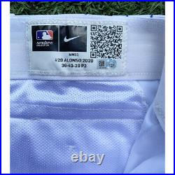 Pete Alonso Game Used NY Mets Home Pants MLB Auth 2x Homerun Derby Champ! Worn