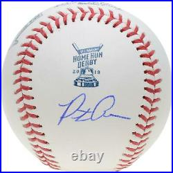 Pete Alonso New York Mets Autographed 2019 MLB Home Run Derby Baseball