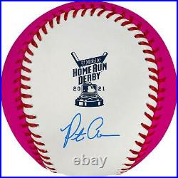 Pete Alonso New York Mets Autographed 2021 Home Run Derby Money Ball Baseball