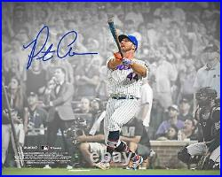 Pete Alonso New York Mets Autographed 8 x 10 2021 Home Run Derby Photograph