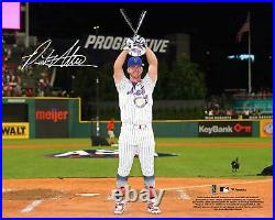 Pete Alonso New York Mets Signed 8 x 10 2019 MLB Home Run Derby Trophy Photo