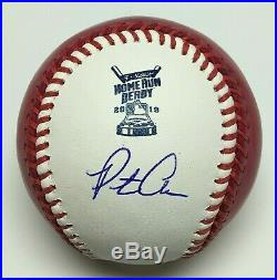 Pete Alonso Signed 2019 Home Run Derby Major League Baseball Champ MLB JD859802