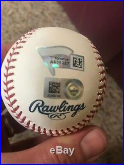 Peter Alonso Autographed Baseball No Bonus Needed 2019 Home Run Derby Baseball