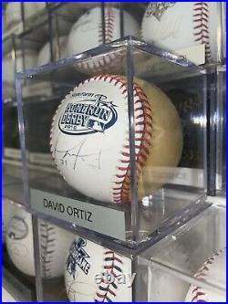 RARE David Ortiz Signed Autographed 2010 Home Run Derby Baseball Champ