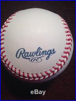 RAWLINGS 2008 OFFICIAL HOME RUN DERBY GAME BASEBALL YANKEE STADIUM ALL STAR Gam