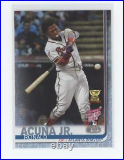 RONALD ACUNA JR 2019 TOPPS UPDATE HOME RUN DERBY Father's Day #US271 #/50