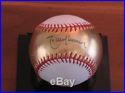 Randy Johnson 5x Cy Hof Signed Auto 2011 Gold Home Run Derby Baseball Psa/dna