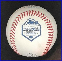 Rawlings 2017 Triple A Official Home Run Derby All Star Game Used Baseball HRD