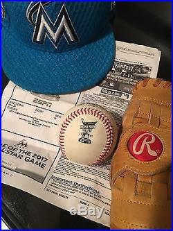 Rawlings Official 2017 Home Run Derby Baseball Aaron Judge HR Ball 2nd Rnd MLB