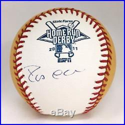 Robinson Cano Autographed 2011 Home Run Derby Baseball USA SM Auth #3413