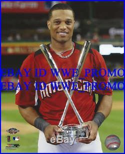 Robinson Cano New York Yankees 2011 Home Run Derby MLB 8X10 BASEBALL PHOTO