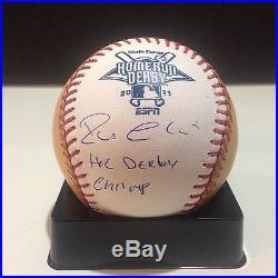 Robinson cano Signed Autograph 2011 Home Run Derby Ball. PSA/DNA
