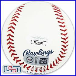 Ronald Acuna Jr. Braves Signed Autographed 2019 Home Run Derby Baseball JSA Auth