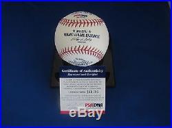 SAMMY SOSA CUBS 2002 ALL-STAR GAME HOME RUN DERBY SIGNED AUTO BASEBALL PSA JSA