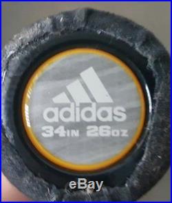 SHAVED HOMERUN DERBY SENIOR Adidas Melee Slowpitch Softball Bat 34 26.5oz