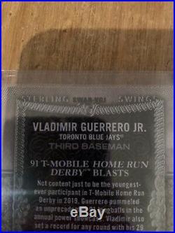 STERLING TOPPS 2020 VLADIMIR GUERRERO JR. 13/25 Home Run Derby 94 HRS