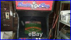 Super Baseball Double Play Home Run Derby Stand Up Video Game Free Play 1987