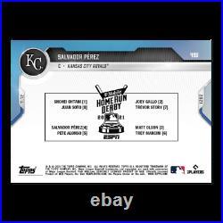 Salvador Perez 2021 MLB TOPPS NOW Card 498 T-mobile Home Run Derby Participant