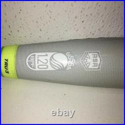 Shaved & Rolled Louisville Slugger Z4 Softball Homerun Derby Bat 26Oz Dual Stamp