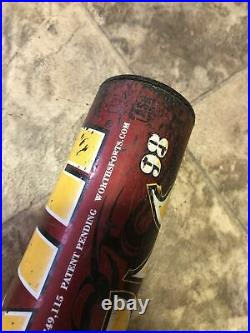Shaved & Rolled Worth Filthy Homerun Derby Softball Bat 27 Oz ASA
