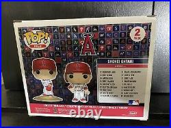 Shohei Ohtani 2-Pack Angels Funko Pop Home Run Derby Authentic Hologram Red Hot