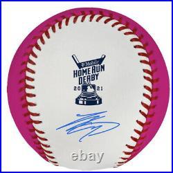 Shohei Ohtani Authentic Autograph 2021 Home Run Derby Money Ball Baseball MLB