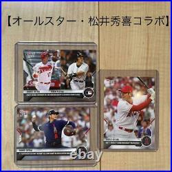 Shohei Ohtani Home Run Derby All-Star Hideki Matsui Collaboration Mlb Card