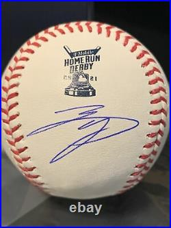 Shohei Ohtani Signed 2021 Home Run Derby Baseball Fanatics Authenticated