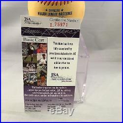 Stan Musial 24x All Star Signed 2009 Home Run Derby Baseball JSA COA