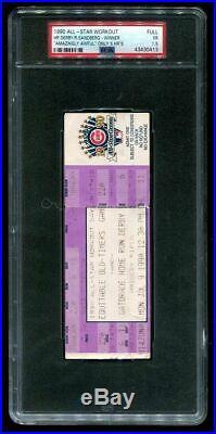 Ticket Baseball 1990 All-Star Home Run Derby Ryne Sandberg Wins Wrigley PSA 1.5