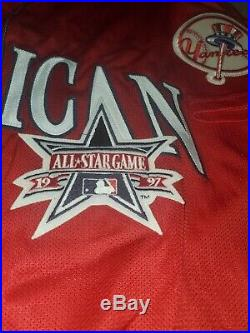 Tino Martinez 1997 Home Run Derby All Star Game Jersey NY Yankees Majestic 6000