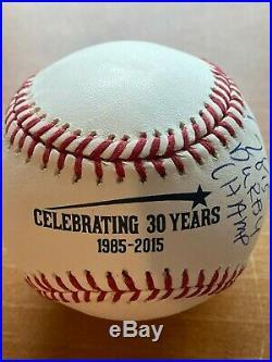 Todd Frazier Autographed 2015 Home Run Derby Champ Baseball Steiner Mint