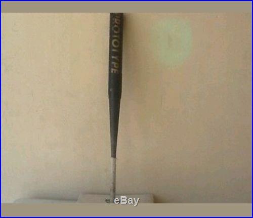 Toloso titanium prototype softball bat 34 28 Easton miken worth home run derby