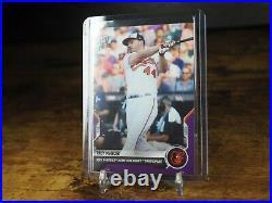 Trey Mancini 2021 MLB TOPPS NOW Card 503 home run derby Purple Parallel 13/25