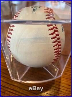 Troy Tulowitski 2014 Home Run Derby Used Ball Rockies Game Used Round 1 Out #6