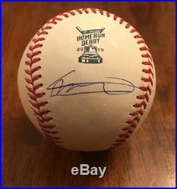 VLADIMIR GUERRERO JR Toronto Blue Jays Signed Auto 2019 Homerun Derby baseball