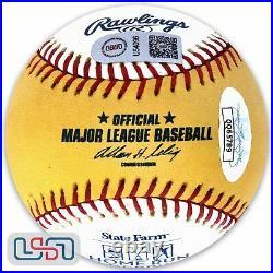 Vladimir Guerrero Angels Autographed 2007 Home Run Derby Baseball JSA Auth