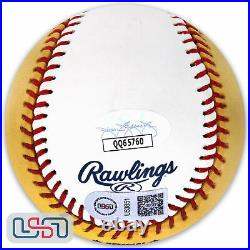 Vladimir Guerrero Angels Signed Champ 2007 Home Run Derby Baseball JSA Auth