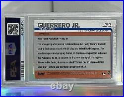 Vladimir Guerrero JR Topps Update HRD Rookie Card PSA 10 Gem Mint